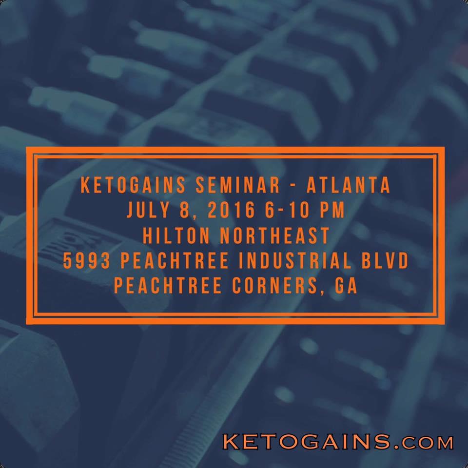 Ketogains Atlanta Seminar 1