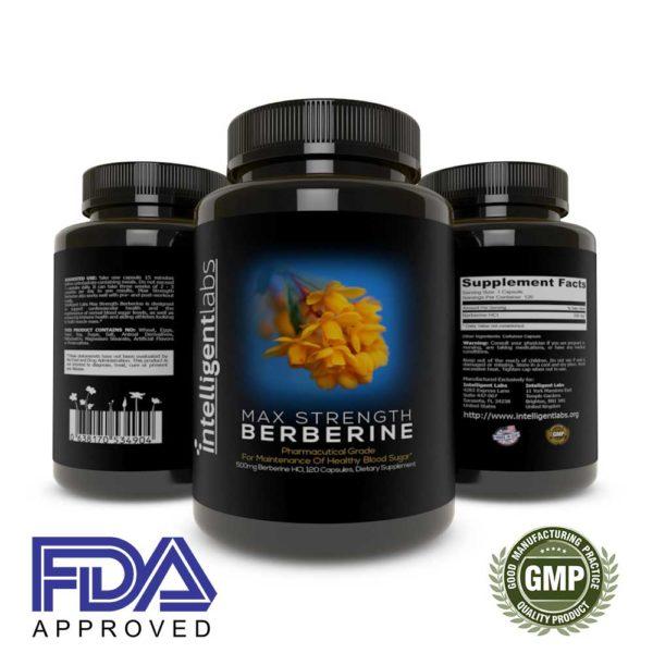 Max Strength Berberine HCL Plus 1