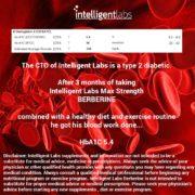 Max Strength Berberine HCL Plus 3