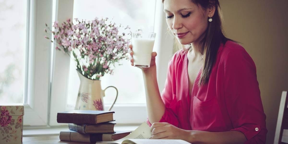 Milk is naturally rich in calcium