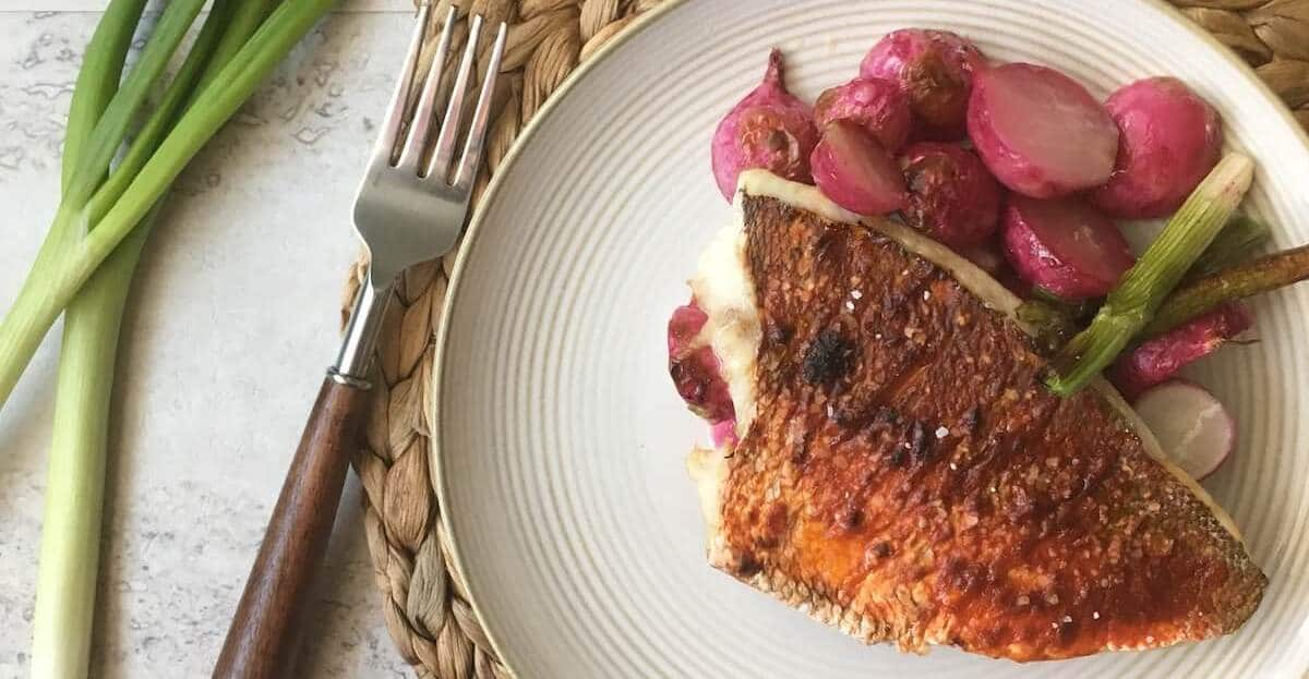 Featured image for keto fish recipes – roasted snapper