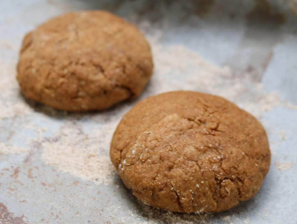 Step 3 – shape the dough into buns